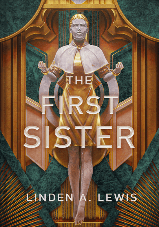 Cover of The First Sister by Linden A. Lewis
